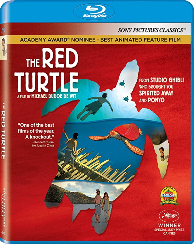 Amazon In Buy The Red Turtle Blu Ray Dvd Blu Ray Online At Best Prices In India Movies Tv Shows