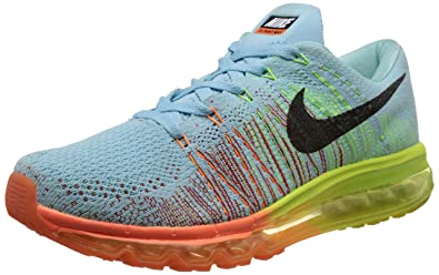 buy popular 2c971 c96c1 ... online c5a26 05424  discount code for nike mens flyknit air max blue running  shoes 10 uk india 45 eu