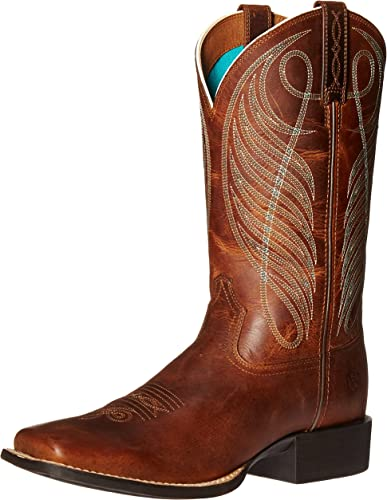 Ariat Women's Round Up Wide Square Toe