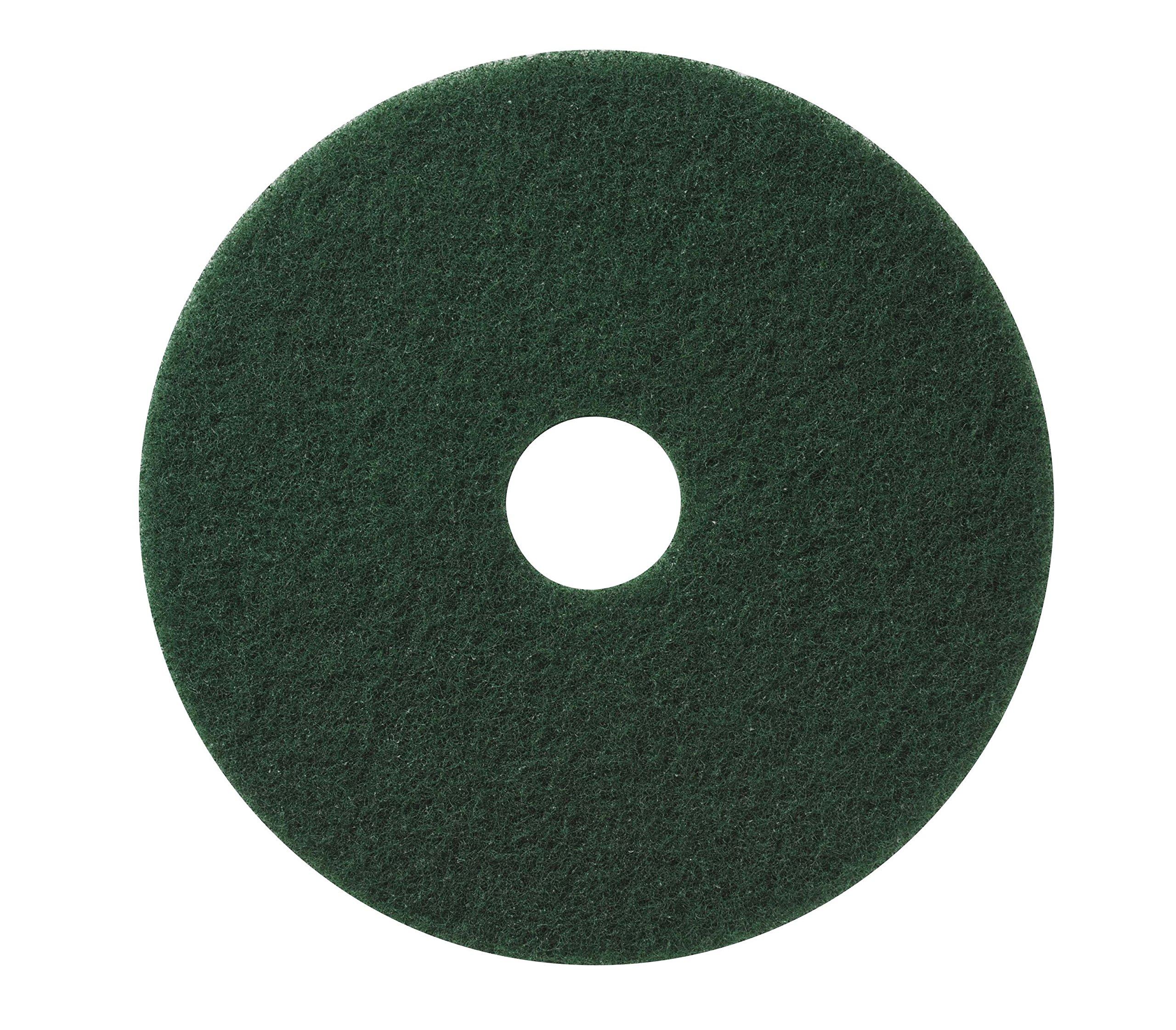 Glit / Microtron 400320 Wet Scrub/Light Strip Pad, 20'', Green (Pack of 5)