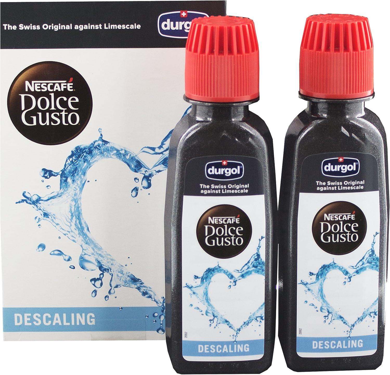 Agua descalcificadora Dolce Gusto Durgol para máquinas de café ...
