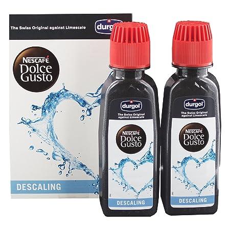 Agua descalcificadora Dolce Gusto Durgol para máquinas de café Dolce Gusto