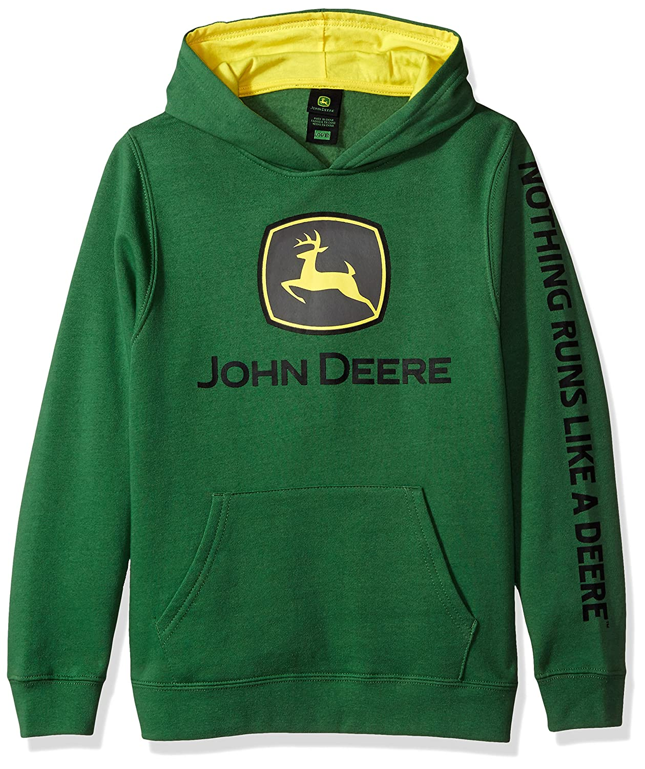 Amazon.com: John Deere Tractor Big Boys Youth Pullover Fleece Hoody Sweatshirt: Clothing