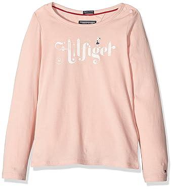 Tommy Hilfiger Tommy Hilfiger Mädchen T-Shirt Hilfiger Mini CN Knit ... c7060eba5c