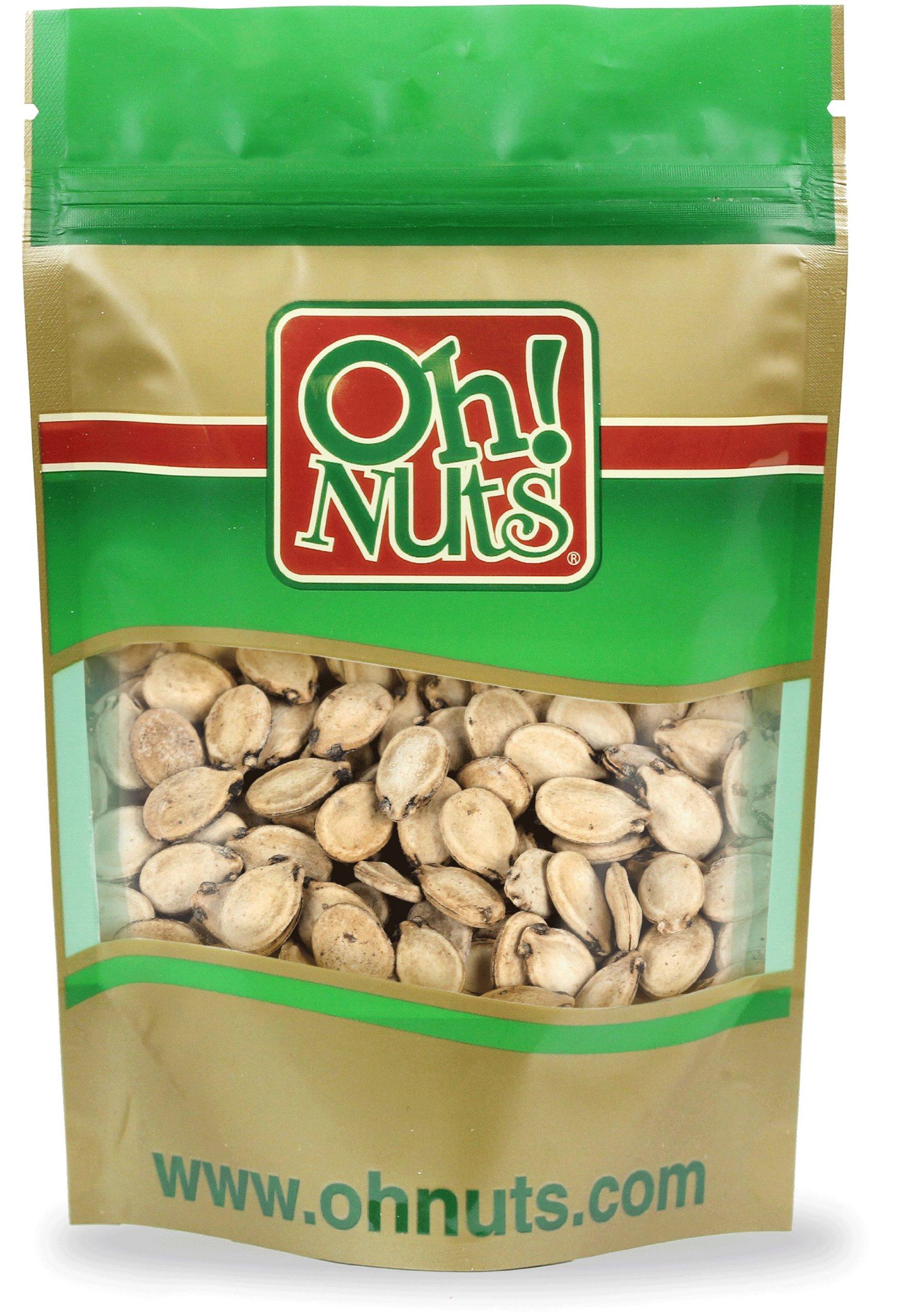 Roasted Salted Israeli Watermelon Seeds 11 Pound Bag - Oh! Nuts