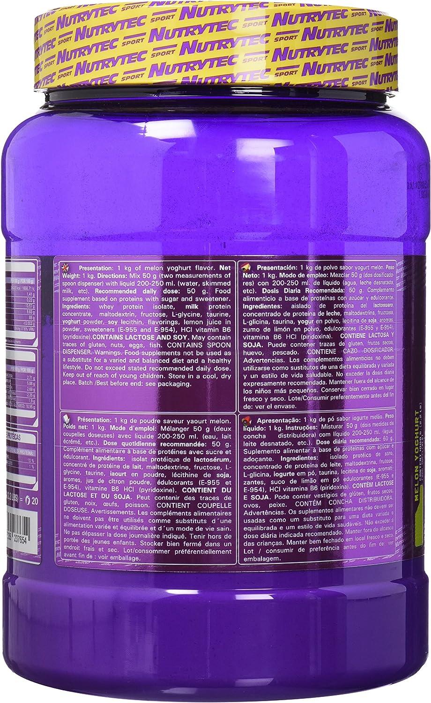 Nutrytec Iso Prox Platinum, Sabor a Yogurt de Melón - 1000 gr ...