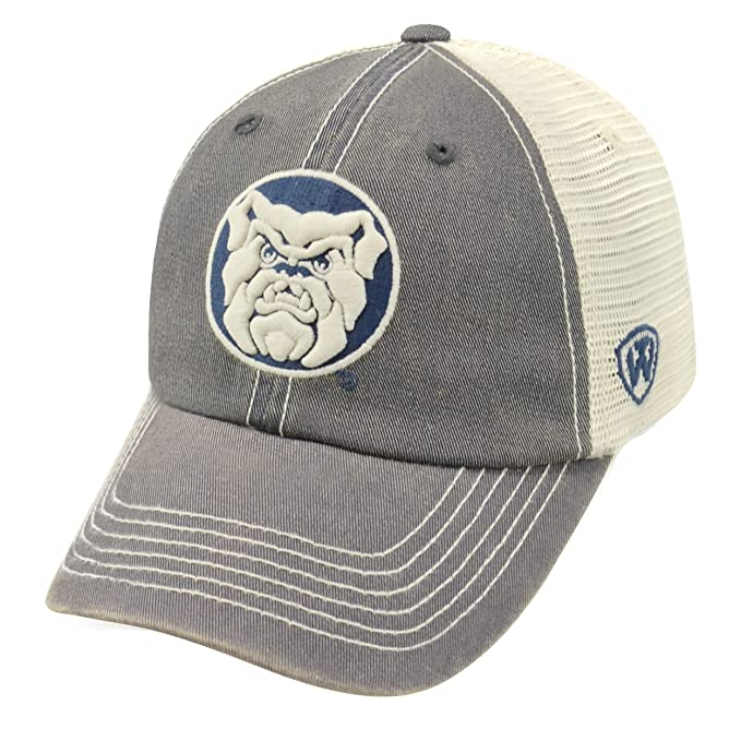 big sale 8c2b3 0db49 Top of the World NCAA Butler Bulldogs Relaxed Fit Adjustable Mesh Offroad  Hat, Navy,