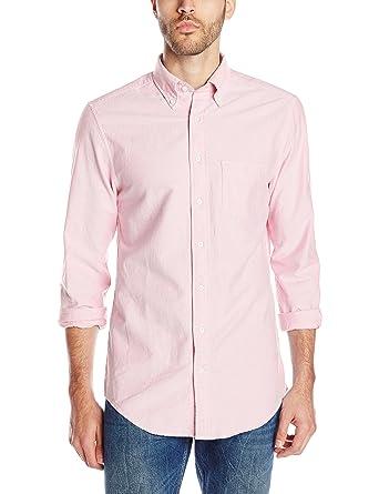 GANT Men's Perfect Oxford Shirt, Pastel Pink, XX-Large at Amazon ...