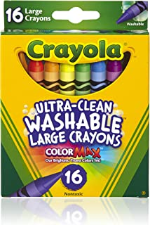 product image for Crayola Washable Crayons, Large, 16 Count