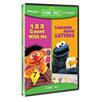 Sesame Street Double Feature - 123 Count With Me / Learning About Letters