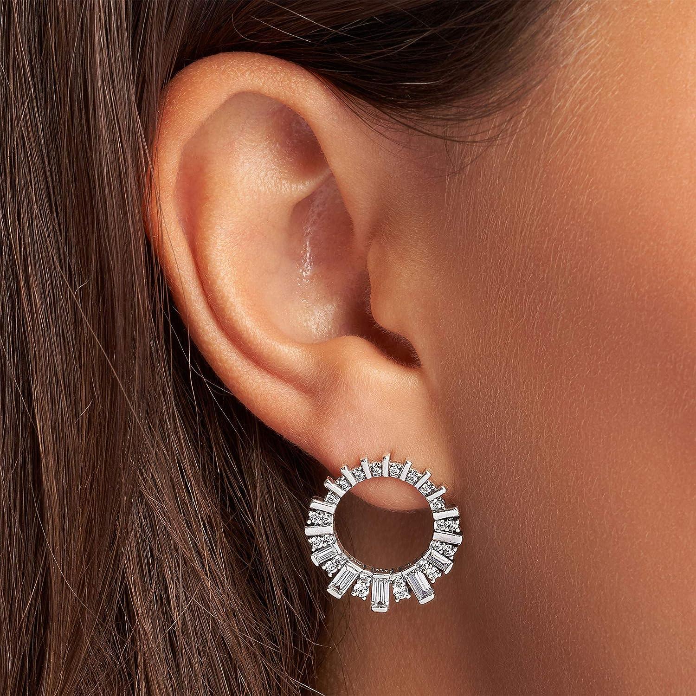 Macram\u00e9 dinging earrings Rounds