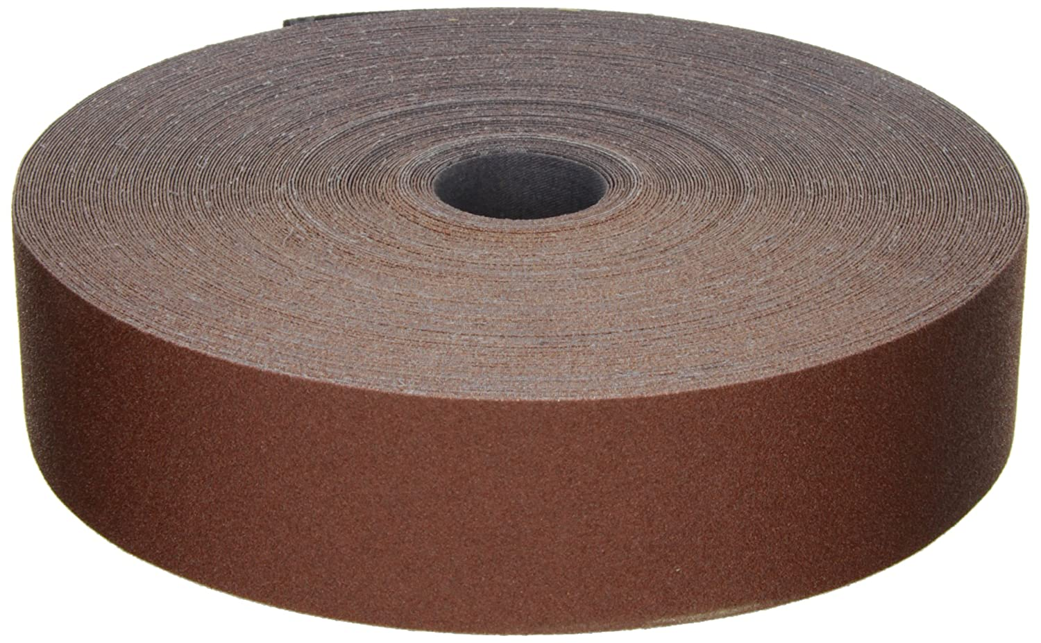 Aluminum Oxide Pack of 1 P80 Grit 2 Width x 50 yds Length Maroon 3M Utility Cloth Roll 314D