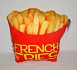 French Fries Expressions Plush Pillow