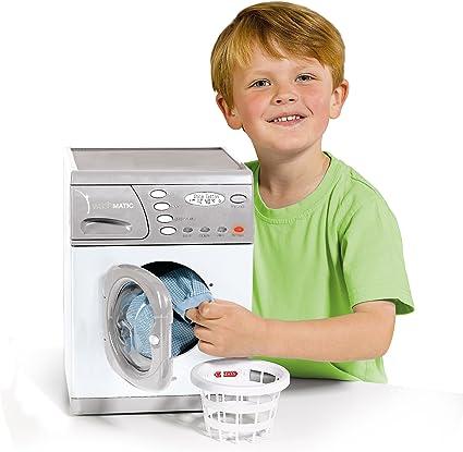 Amazon.com: Lavadora de juguete de Casdon: Toys & Games