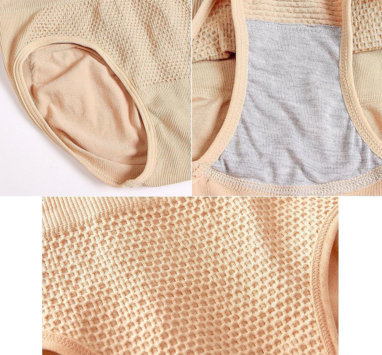 YSense 2 Pack Damen Slip Miederslip figurformend Bauch Weg Effekt Shapewear MEHRWEG