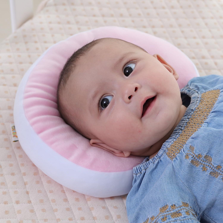 utilizzato in carrozzina//passeggino//culla Classe di efficienza energetica A+ Kakiblin ultra soft Baby Pillow anti-flat sindrome di testa