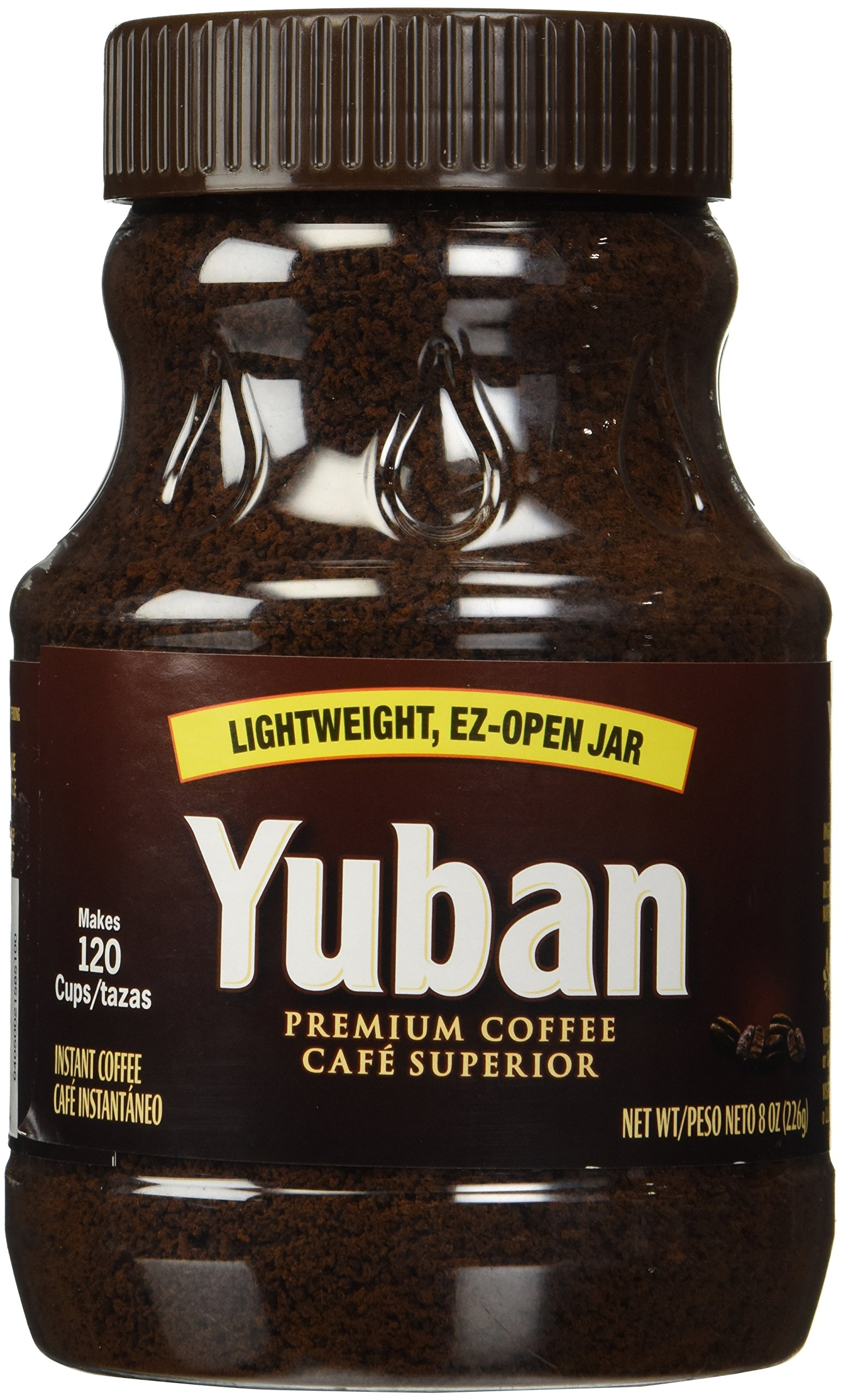 Amazon Com Yuban Premium Instant Coffee Ez Open 8oz