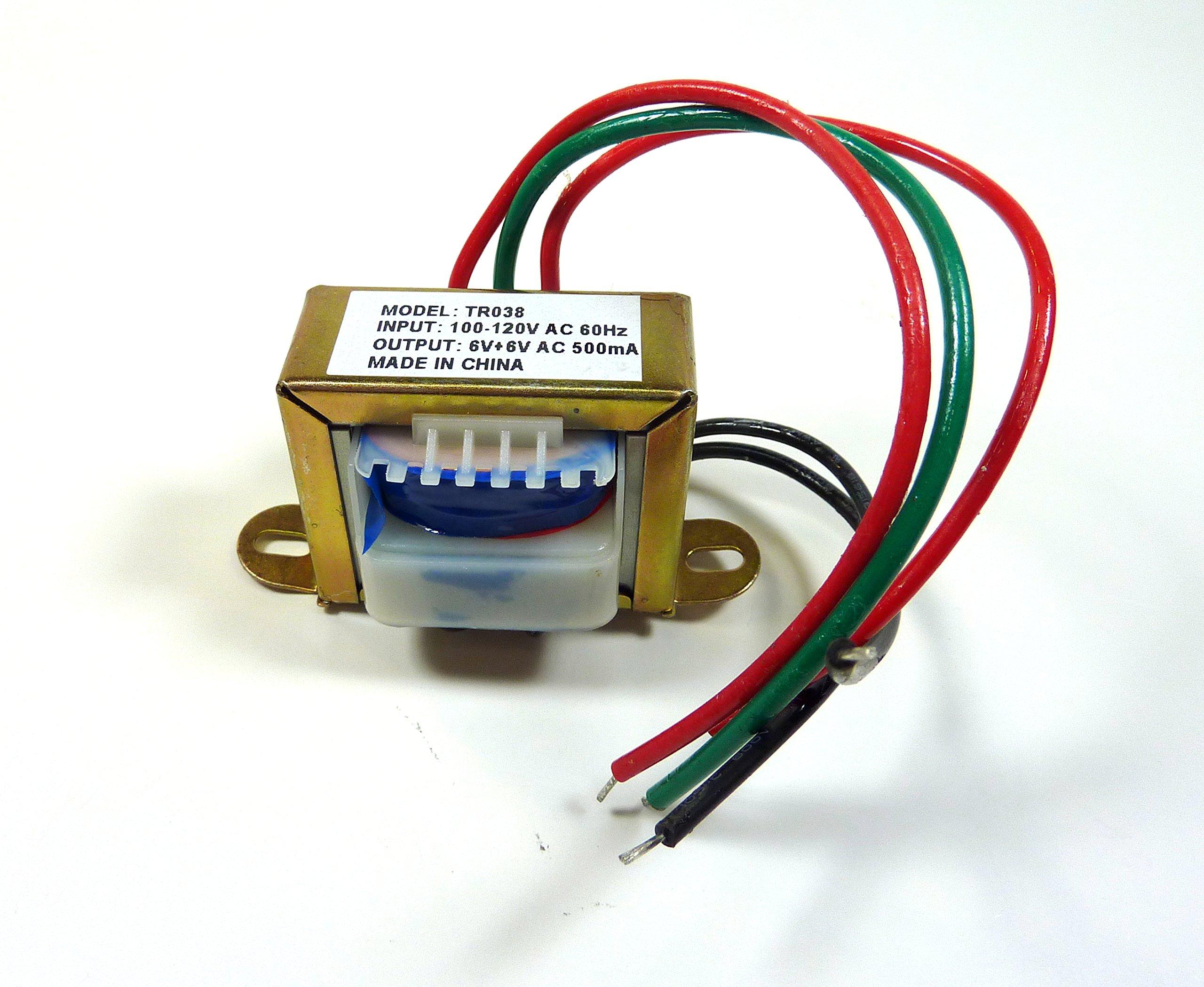 Power Transformer 12V-500mA