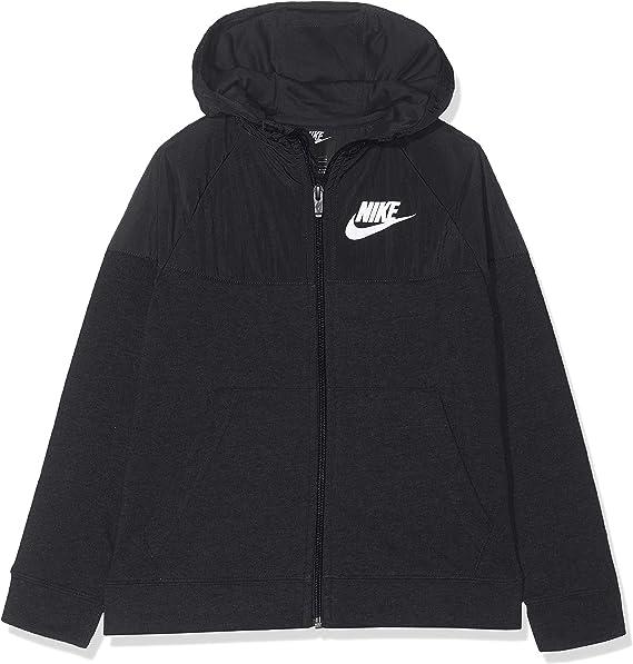 Nike B NSW Hoodie Fz AV Sweat-Shirt Gar/çon