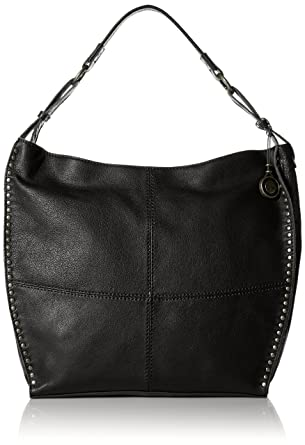 Amazon.com: The Sak Silverlake Bucket Hobo Bag, Black, One Size ...