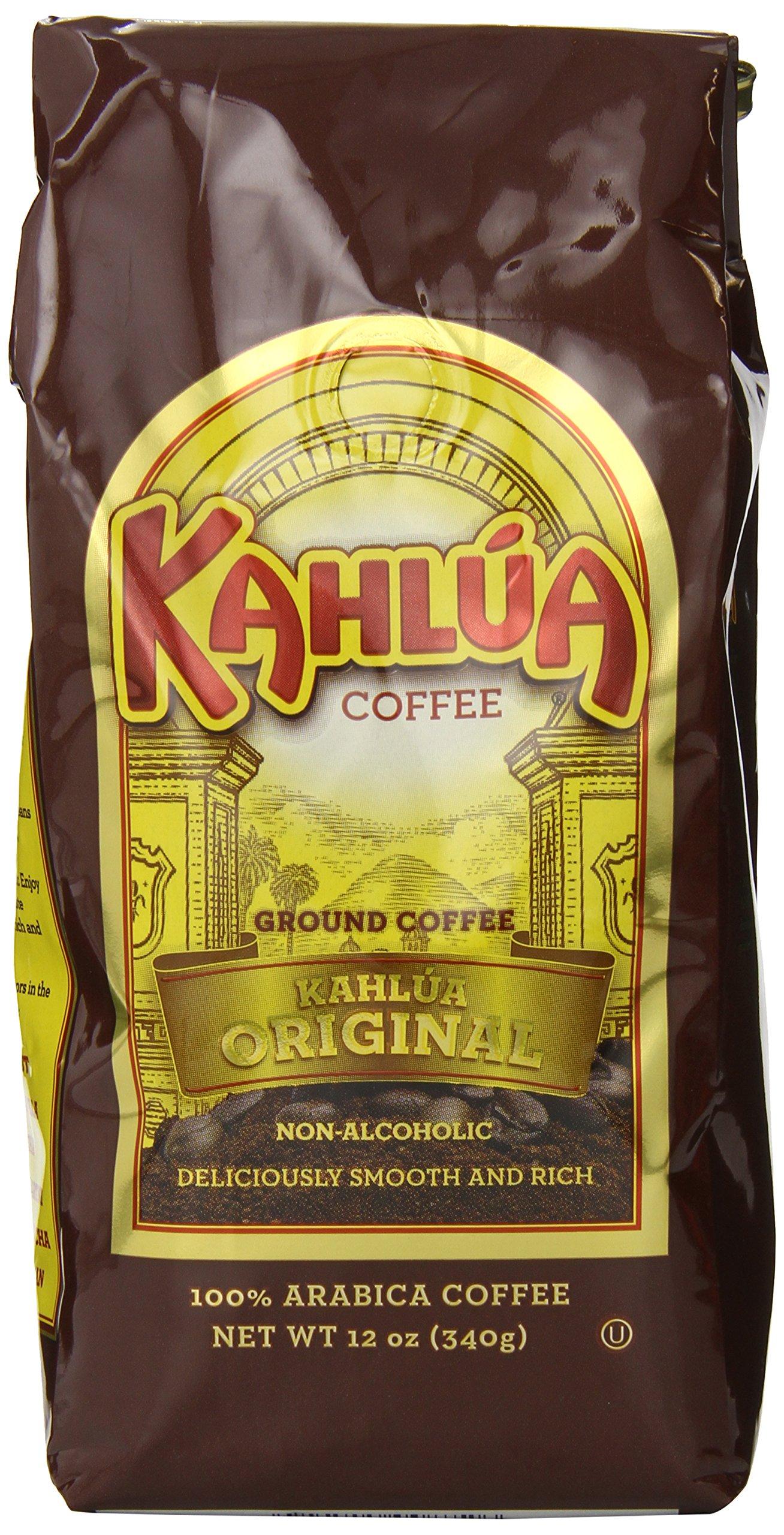 CDM product Kahlua Gourmet Ground Coffee, Original, 12 Ounce (Pack of 2) big image