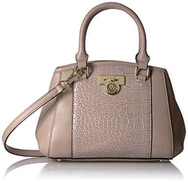 Anne Klein Total Look Small Satchel, Haze/Haze: Handbags: Amazon.com