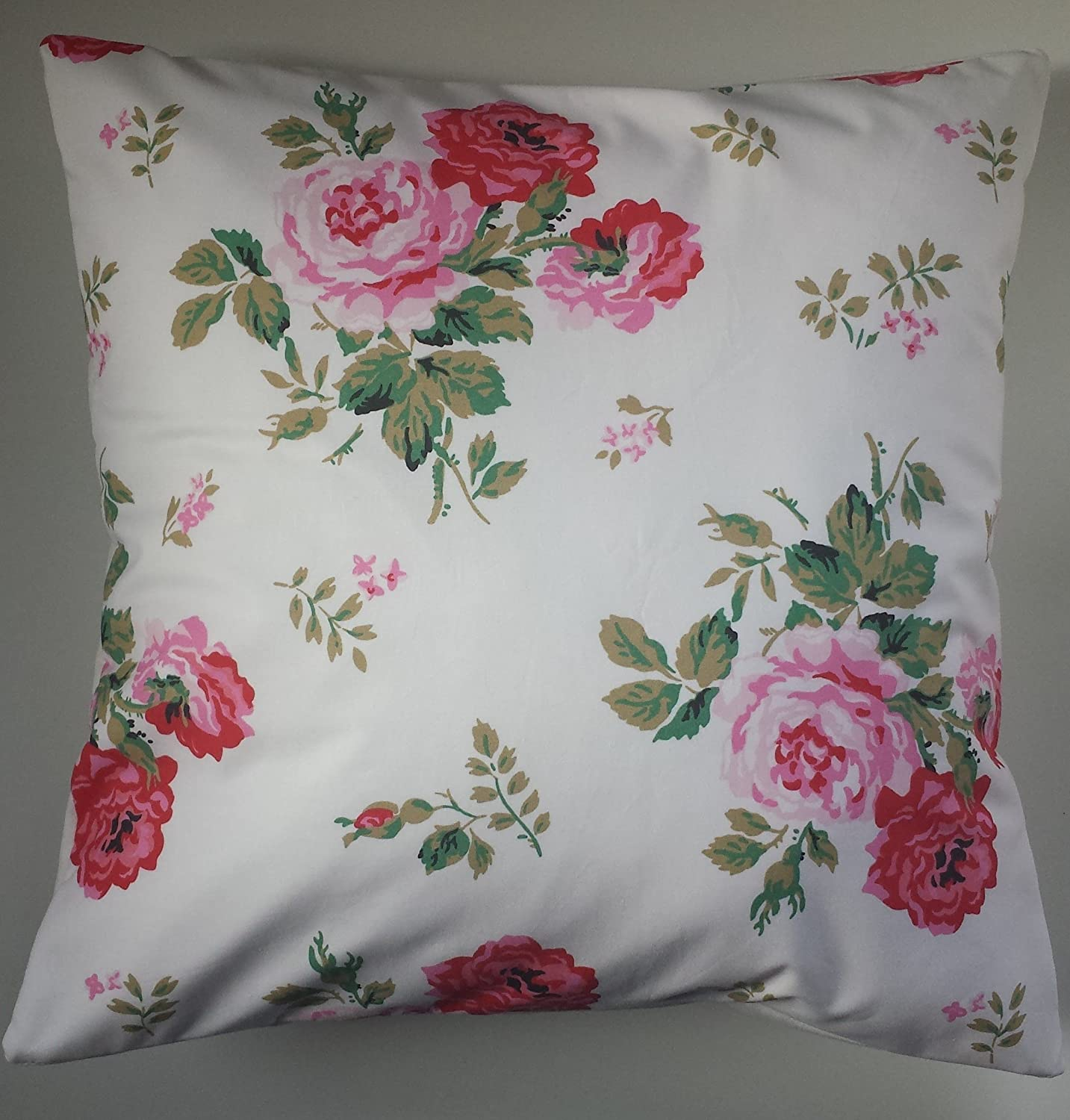 Cushion Cover in Cath Kidston Antique Rose White 14' 16' 18' 20'