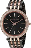 Michael Kors Women's Darci Grey Rose Gold-Tone Watch MK3584