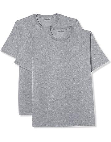 8e44471e Amazon Essentials Men's Big & Tall 2-Pack Short-Sleeve Crewneck T-Shirt