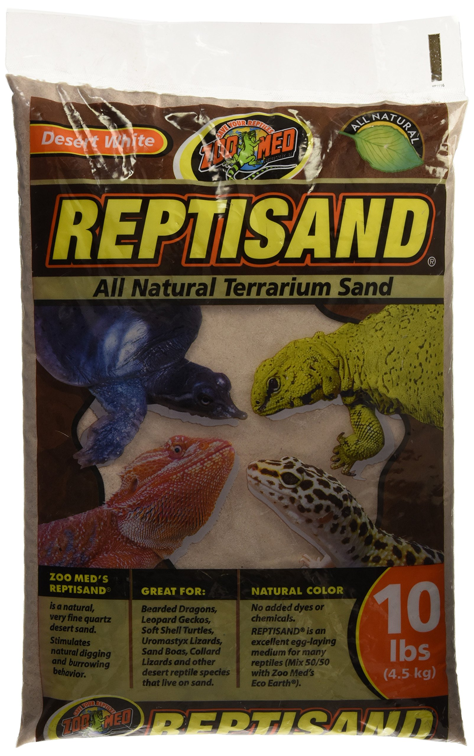 Zoo Med ReptiSand, 10 Pounds, Desert White by Zoo Med