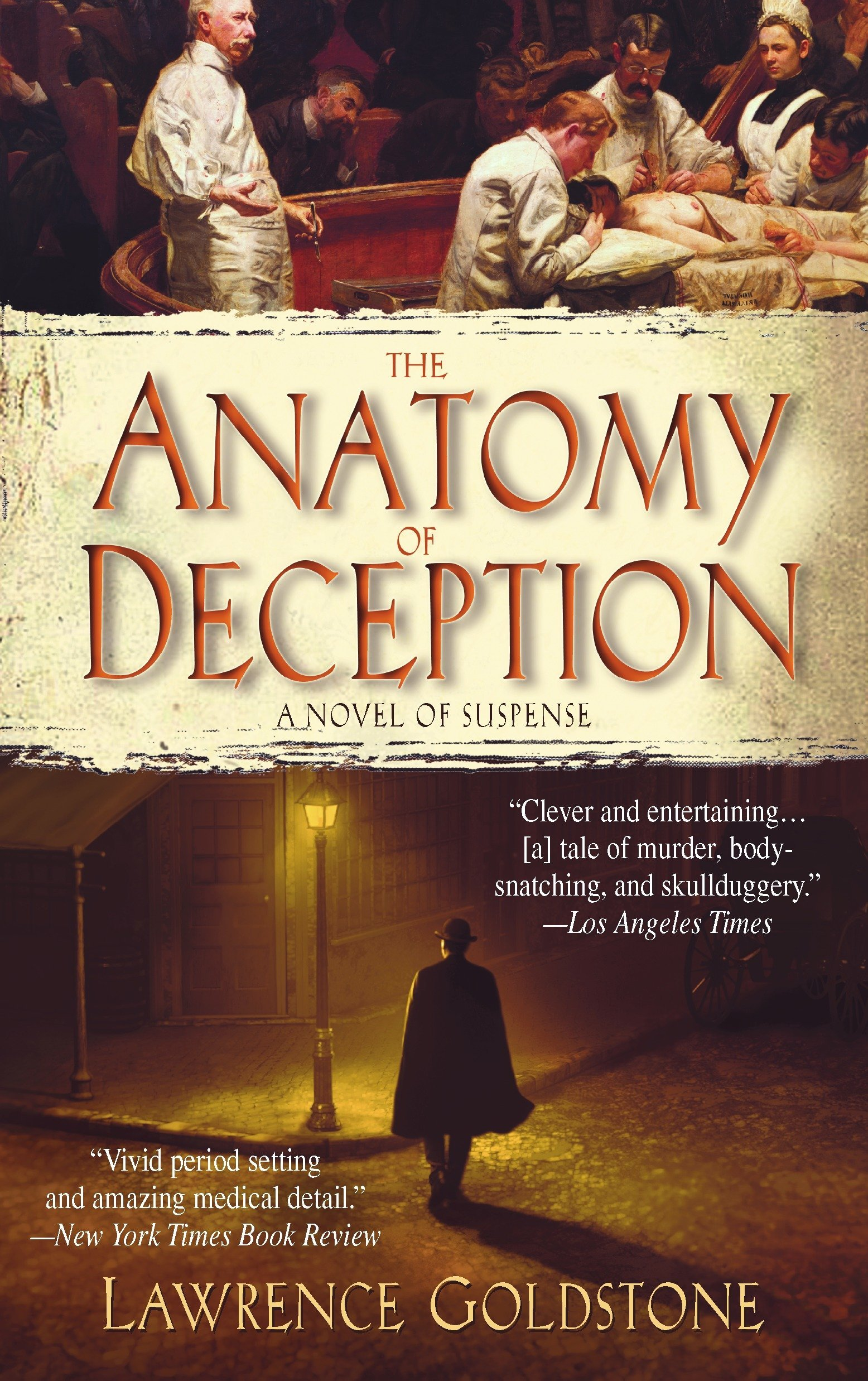 Amazon The Anatomy Of Deception A Novel Of Suspense Lawrence