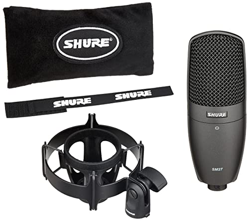 Shure SM27-SC Multi-Purpose Large Diaphragm Cardioid Side-Address Condenser Microphone