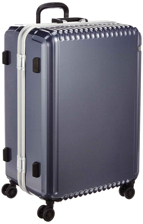 [エース] ace. スーツケース パリセイドF 65cm 96L 5.1kg 無料預入受託サイズ B01BUPJYIM ネイビーカーボン ネイビーカーボン