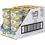 Fancy Feast Grilled Ocean Whitefish & Tuna in Gravy Wet Cat Food, 24X85g