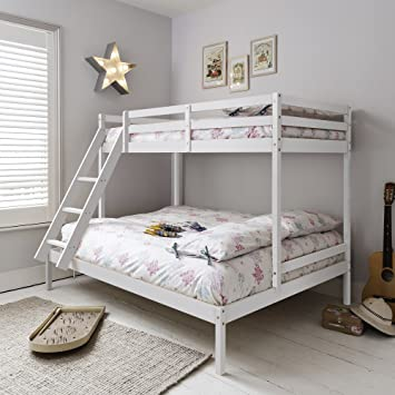Noa And Nani Kent Triple Bed Bunk Bed White Amazon Co Uk