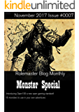 Rolemaster Blog Monthly: Monster Special (English Edition)