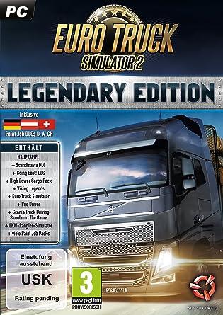 Astragon Euro Truck Simulator 2: Legendary Edition PC Alemán vídeo - Juego (PC, Simulación): Amazon.es: Videojuegos
