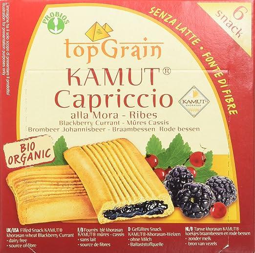 3 opinioni per Probios Kamut Capriccio alla Mora e Ribes- Confezione da 6 Snacks [198 gr]