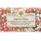 Wavertree and London Japanese Plum Luxury Soap 1 bar, 200g/7oz