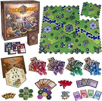 Wiz Dice Dice Wars: Heroes of Polyhedra Juego de Estrategia de ...