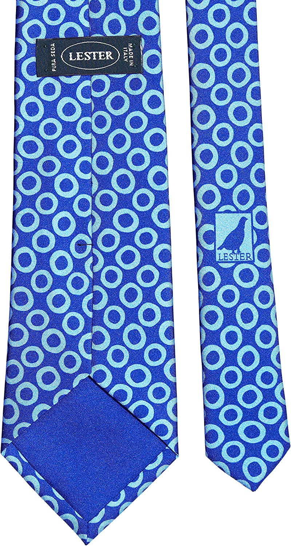 Lester Corbata Aros Grandes Azul: Amazon.es: Ropa y accesorios