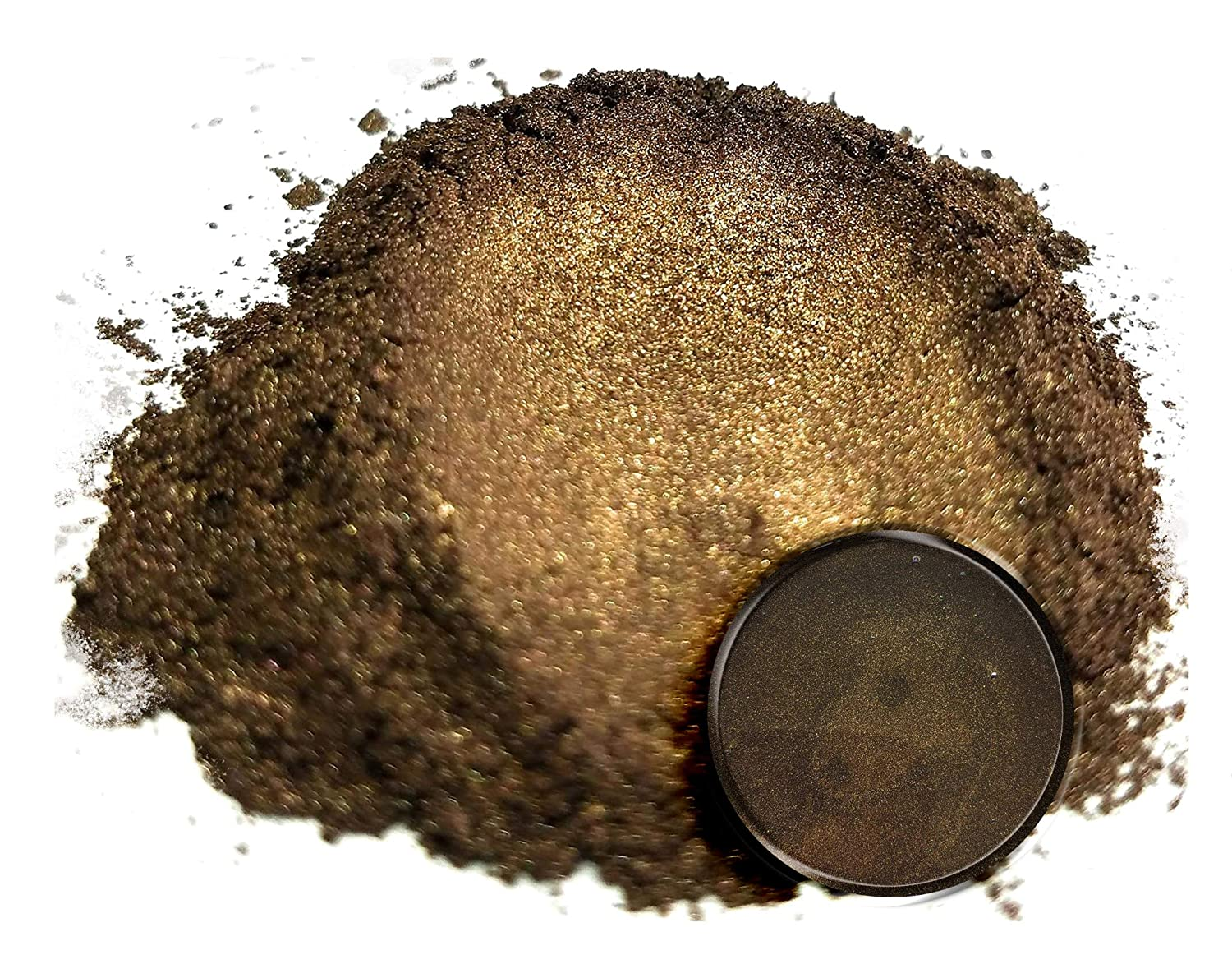 Mica Powder PigmentKendo Brown (50g) Multipurpose DIY Arts and Crafts Additive | Natural Bath Bombs, Resin, Paint, Epoxy, Soap, Nail Polish, Lip Balm Eye Candy Customz ECC-01090A