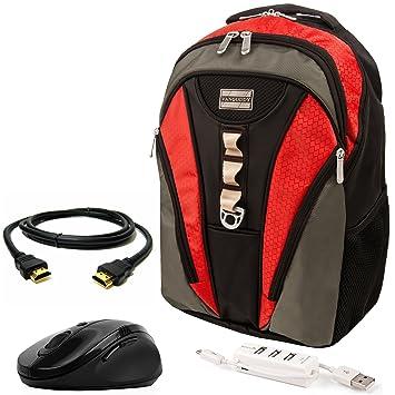 Amazon.com: VanGoddy Rivo Rugged Anti-Theft Laptop Backpack ...