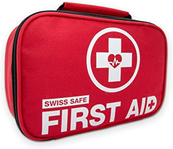 Swiss Safe 120Pc. Mini First Aid Kit + 32-Piece Bonus Kit
