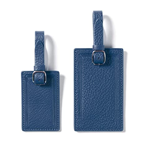 62635ad3d125 Leatherology Cobalt Privacy Luggage Tags