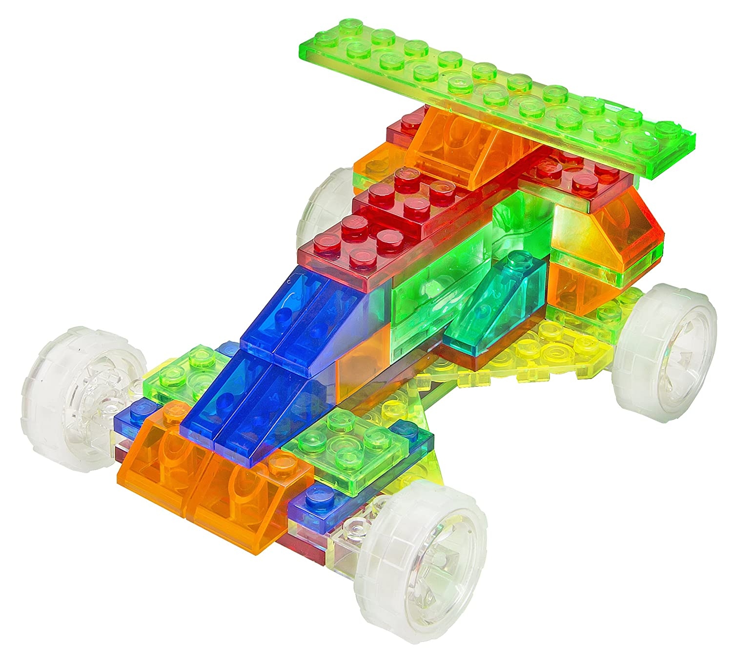 Amazon Laser Pegs 4 in 1 Cars Building Set Toys & Games