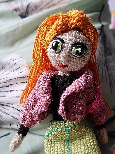 Muñeca amigurumi en lana, crochet ganchillo doll peluche niño niña mujer