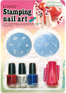 Amazon konad konad stamping nail art pro salon kit i konad set starter kit for stamping nail art prinsesfo Image collections