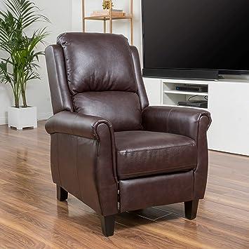 Amazon.com: Lloyd Sillón reclinable de cuero ...