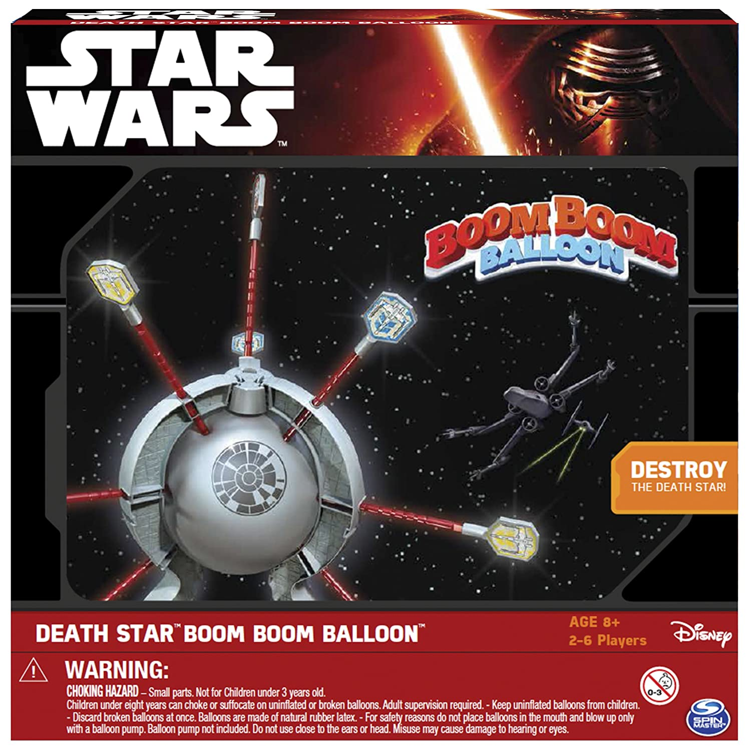 Spin Master Games Star Wars Death Star Boom Boom Balloon Juego de ...